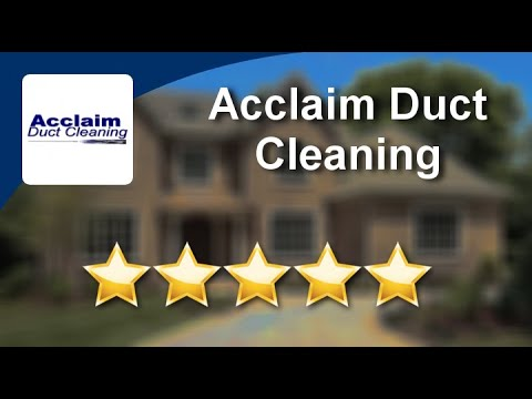 Acclaim Duct Cleaning Hvac Duct Cleaning  Kitchener   Excellent Review by Bluster M.