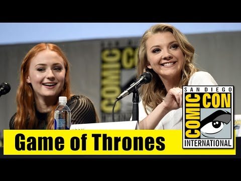 Game of Thrones | Comic Con 2015 Full Panel (Carice Van Houten, Conleth Hill, Maisie Williams)