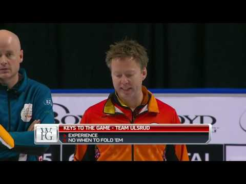 2017 World Financial Group Continental Cup of Curling - Koe vs. Ulsrud