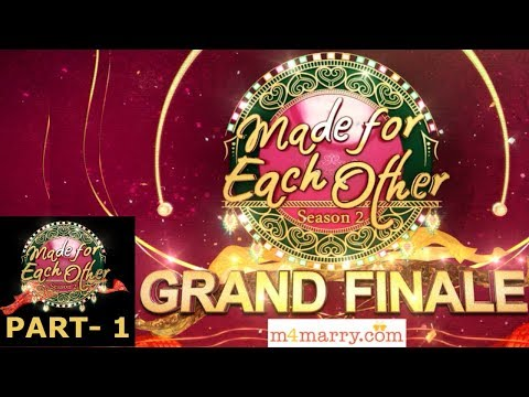 Made for each other season 2 I S2 Grand Finale Part - 01 I Mazhavil Manorama