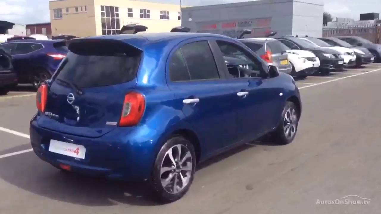 nissan micra n tec blue 2016 youtube. Black Bedroom Furniture Sets. Home Design Ideas