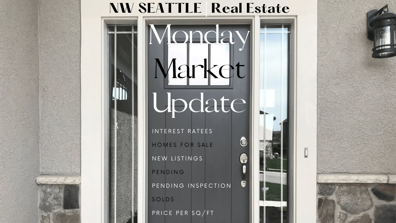Monday NW Seattle Real Estate Market Update | January 11th, 2021