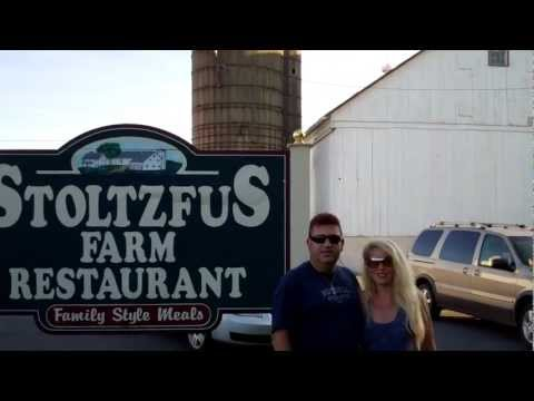 STOLTZFUS FARM RESTAURANT LANCASTER, PA (CLOSED )