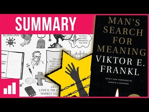 Man's Search For Meaning by Viktor Frankl ► Animated Book Summary
