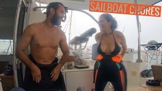 Sailboat Work and Chores on S/V Hakuna | The Real Boat Life Ep. 11
