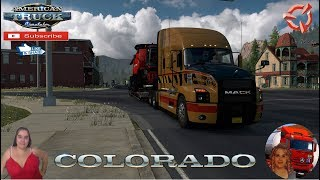 "American Truck Simulator (1.37)   Road to Ridgway Colorado Future DLC Long Delivery Mack Anthem by SCS Software Spring Graphics/Weather v1.0 (1.37) by Grimes Trailer Jazzycat FMOD ON and Open Windows Next-Gen Graphics USA Test Gameplay ITA + DLC's & Mods New city Ridgway,  Fixed some little things,  Map for good routes and variety, For the mods to work,  You need all the dlc 1.37 https://forum.scssoft.com/viewtopic.php?f=194&t=286032  SCS Software News Iberian Peninsula Spain and Portugal Map DLC Planner...2020 https://www.youtube.com/watch?v=NtKeP0c8W5s Euro Truck Simulator 2 Iveco S-Way 2020 https://www.youtube.com/watch?v=980Xdbz-cms&t=56s  #TruckAtHome #covid19italia Euro Truck Simulator 2    Road to the Black Sea (DLC)    Beyond the Baltic Sea (DLC)   Vive la France (DLC)    Scandinavia (DLC)    Bella Italia (DLC)   Special Transport (DLC)   Cargo Bundle (DLC)   Vive la France (DLC)    Bella Italia (DLC)    Baltic Sea (DLC)   American Truck Simulator New Mexico (DLC) Oregon (DLC) Washington (DLC) Utah (DLC)     I love you my friends Sexy truck driver test and gameplay ITA  Support me please thanks Support me economically at the mail vanelli.isabella@gmail.com  Roadhunter Trailers Heavy Cargo  http://roadhunter-z3d.de.tl/ SCS Software Merchandise E-Shop https://eshop.scssoft.com/  Euro Truck Simulator 2 http://store.steampowered.com/app/227... SCS software blog  http://blog.scssoft.com/  Specifiche hardware del mio PC: Intel I5 6600k 3,5ghz Dissipatore Cooler Master RR-TX3E  32GB DDR4 Memoria Kingston hyperX Fury MSI gtx 970 Twin Frozr Gaming 4gb ddr5 Asus Maximus VIII Ranger Gaming Cooler master Gx750 SanDisk SSD PLUS 240GB  HDD WD Blue 3.5"" 64mb SATA III 1TB Corsair Mid Tower Atx Carbide Spec-03 Xbox 360 Controller Windows 10 pro 64bit"