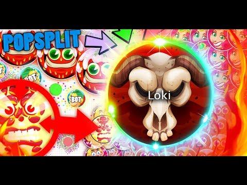 Agar.io/Raga.io -LAGGIEST POPSPLIT EVER🔥? Loki Is Back?SXY Clan😍 ?