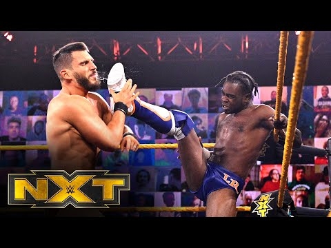 Leon Ruff vs. Johnny Gargano – NXT North American Title Match: WWE NXT, Nov. 18, 2020