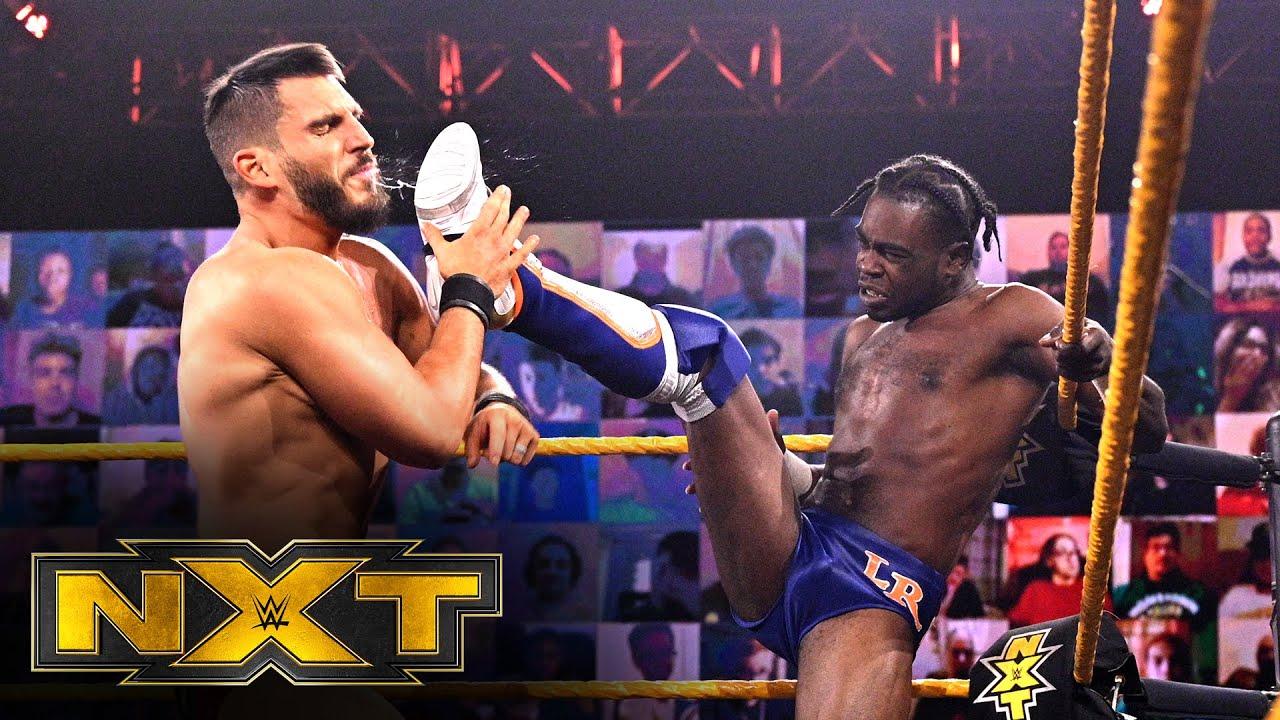 Leon Ruff vs. Johnny Gargano – NXT North American Title Match: WWE NXT, Nov. 18, 2020