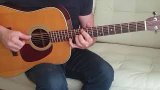 Bee Gees - How deep is your love - Acoustic Guitar Cover Fingerstyle