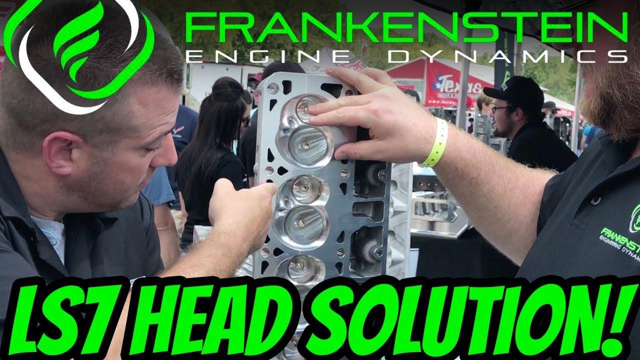 FRANKENSTEIN F710 290cc LS7 Cylinder Heads