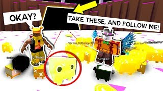 He gave me the rarest pets in pet simulator, then told me this secret... (Roblox)