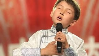 Niño de Mongolia canta a su Madre - Spanish subs