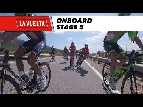 GoPro Highlights - Stage 5 - La Vuelta 2017