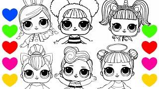 Especial Lol Desenho De Pintar Da Lol Surprise Com A Queen B