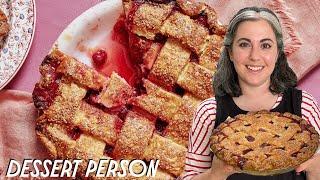 Claire Saffitz Makes Cherry Pie | Dessert Person