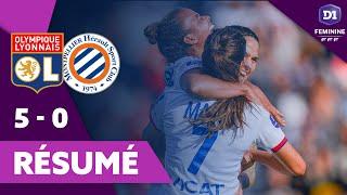VIDEO: Résumé OL - Montpellier | D1 Arkema |Olympique Lyonnais