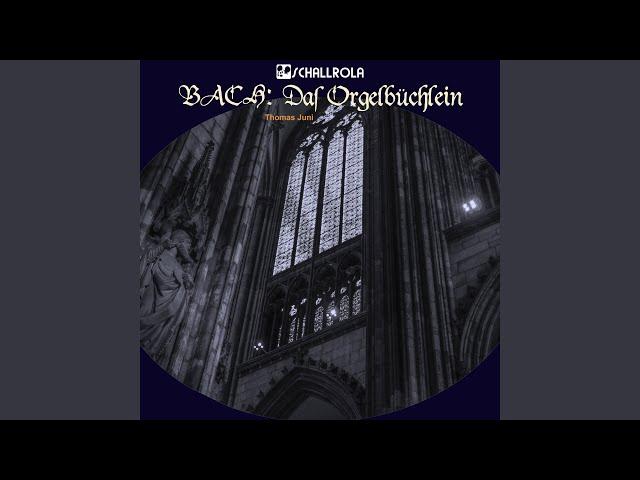 Nun komm der Heiden Heiland, BWV 599 in a-Moll