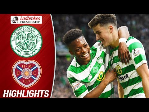 Celtic 2-1 Hearts | Dembele Debuts as Johnston Scores Twice on Trophy Day | Ladbrokes Premiership