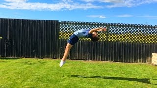 Tumbling on Grass!
