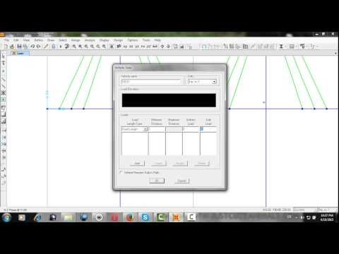 Modeling of Cable Stayed Bridge in sap2000 v15