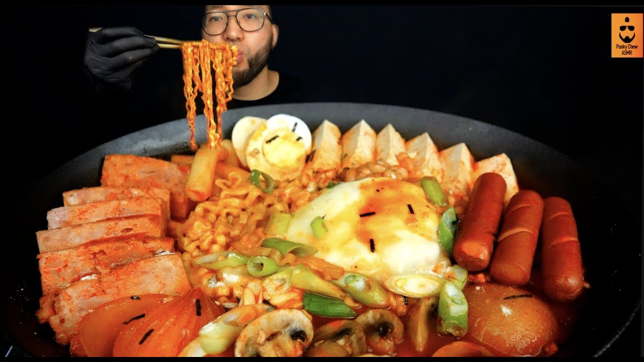Sausage stew #Korean Army Stew #Budae Jjigae #Fire Noodle # Spicy Fire Noodle with Cheese & Sausage