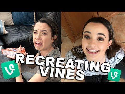 Recreating Iconic Vines - Merrell Twins