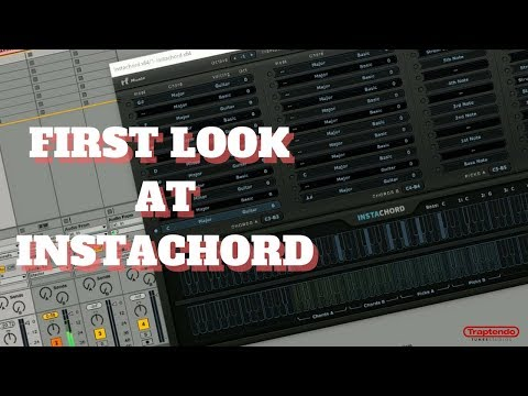 FIRST LOOK AT INSTACHORD MUSIC THEORY PLUGIN