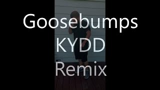 Travis Scott's Goosebumps Remix (KYDD!) | Lyrics