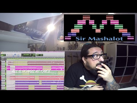 Sir Mashalot: Mind-Blowing SIX Song Country Mashup REACTION