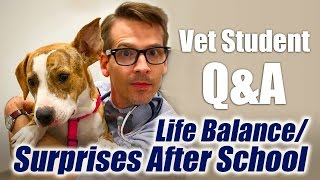 Vet Student Q&A -  Life Balance, Compassion Fatigue, Surprises After Veterinarian School