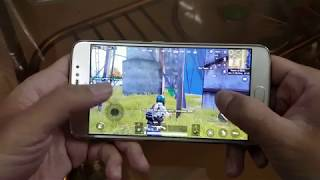 Test game PUBG Mobile on Motorola Moto E4 Plus