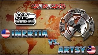 vuclip Inertia VS Artsy ★ Daily Beatbox Battle ★ 20.10.2015