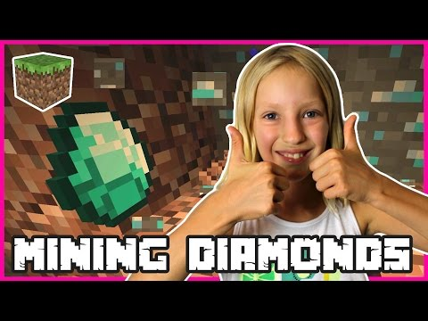 Insane Diamonds Emeralds Mining / Minecraft