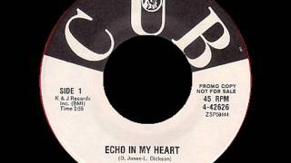 Echo In My Heart - The Stereos 1962 CUB 45 4 42626 A