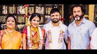 Director Anand Shankar Marries Divyanka | Actor Vikram, A.R Murugadoss attend | Celebrity Wedding