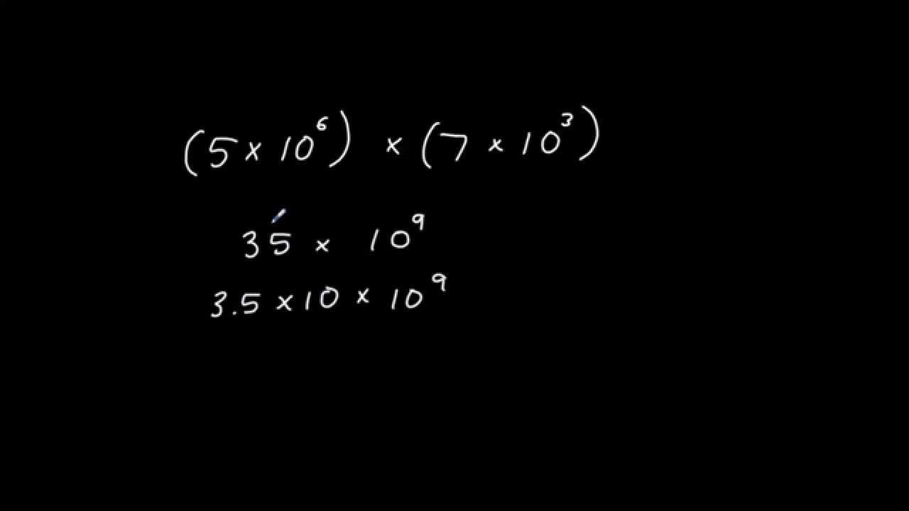 Multiplying and dividing numbers in standard form youtube multiplying and dividing numbers in standard form falaconquin