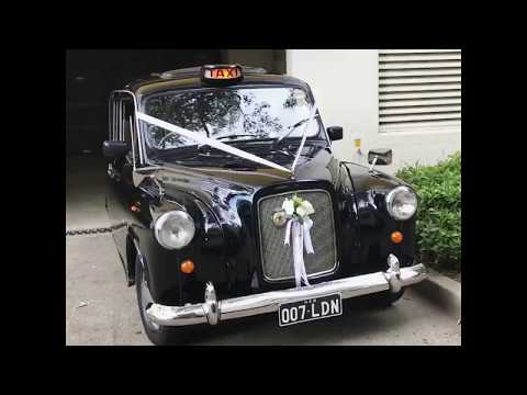 Classic London Black Cab Wedding Car - Sydney, Australia