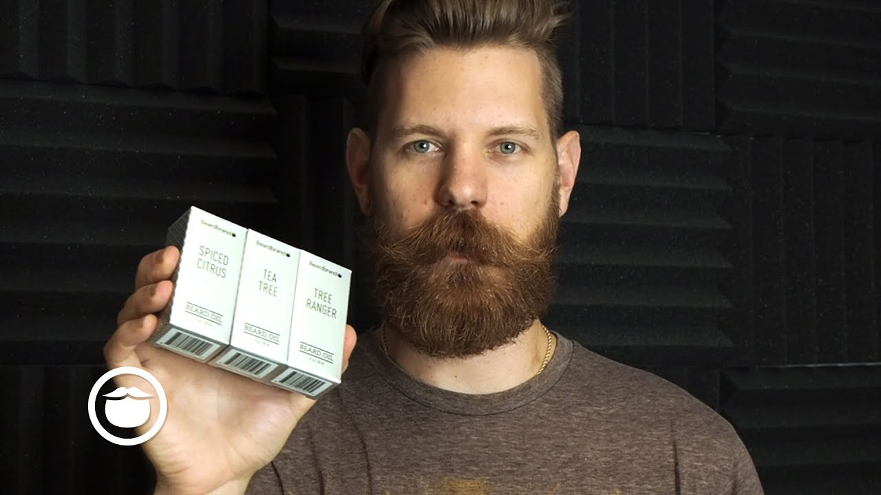 Review Brisk Citrus Beard Oil