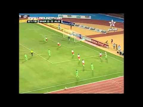 Maroc 4-0 Algerie - 1ere mitemp Adil Omari