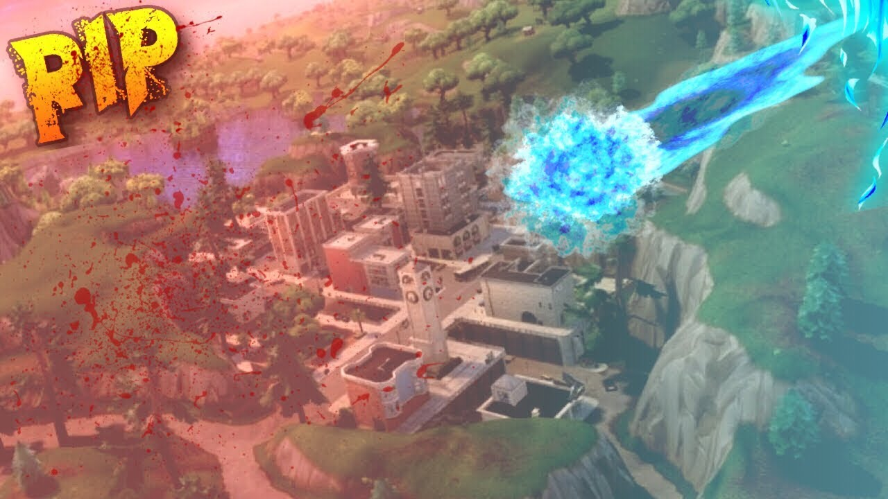 The Meteor Strike Is About To Hit Tilted Towers And This