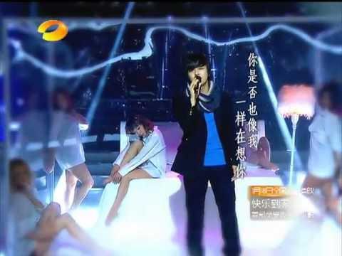 2012 12 20 Kim Jeong Hoon sing a Chinese song in Hunan TV