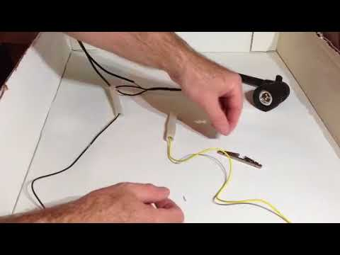 Outdoor Low Voltage Shark Wire Connector - YouTube
