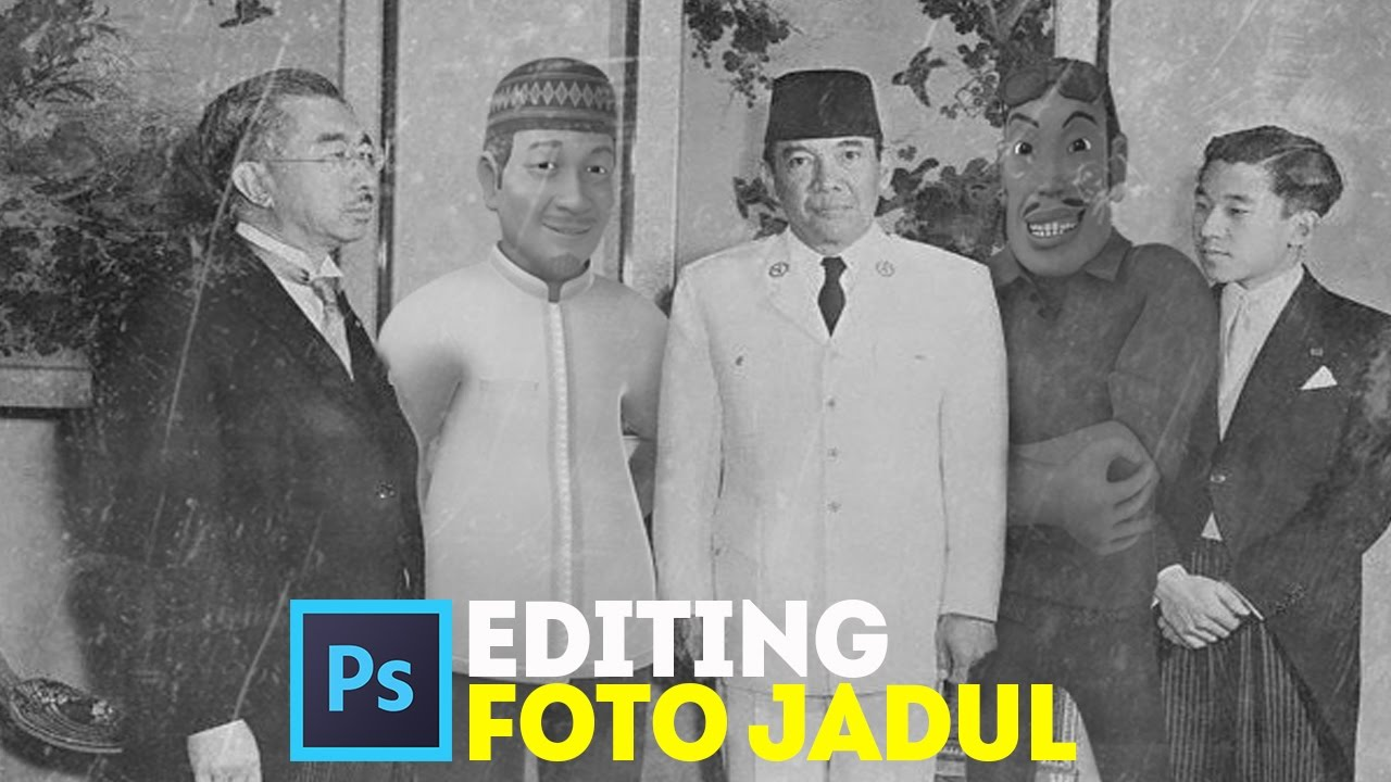 Cara editing foto jadul dengan Photoshop CC - Tutorial ...