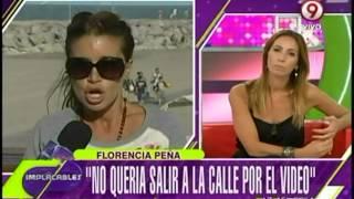 La mala experiencia de Flor Peña con la filtración de su video íntimo