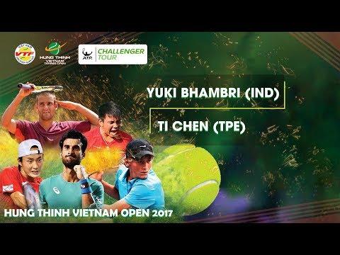 FULL  Yuki BHAMBRI (IND) (2 - 0) Ti CHEN (TPE)   VÒNG 2 GIẢI QV QT HƯNG THỊNH VIETNAM OPEN 2017