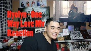 Hyolyn - One Way Love Mv Reaction