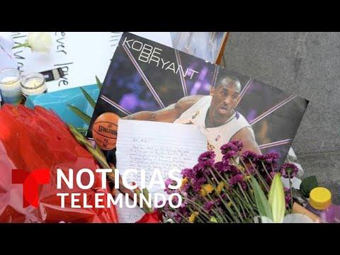 EN VIVO: Noticias Telemundo con lo más reciente sobre la muerte de Kobe Bryant