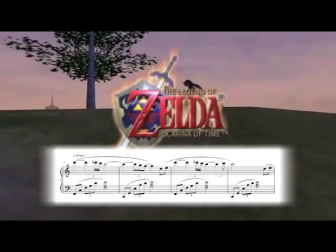 Title Theme - The Legend of Zelda: Ocarina of Time ~ Piano Sheet Music
