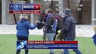 Ajax Downs Oct  30, 2017 Race 6